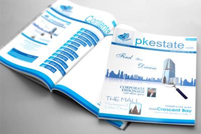 Design a book / magazine / catalogue / brochure cover