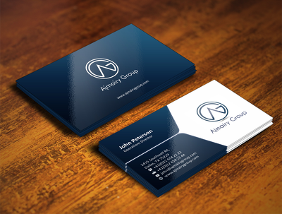 Design a beautiful buisness card with unlimited revision