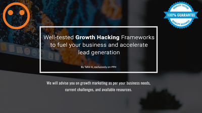 Give you full-service growth hacking / digital marketing package