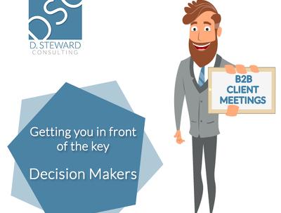 B2B Appointment Setting / Arrange Client Meetings