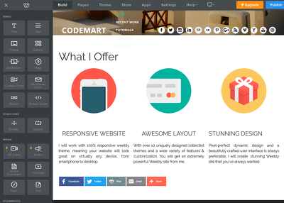 Fix any issues in your weebly website