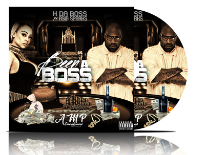 Designs professional ALBUM and  SINGLES cover ARTWORK