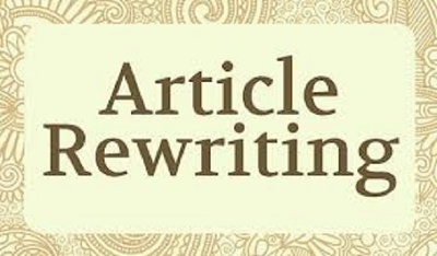Rewrite an article or web content of 500 words