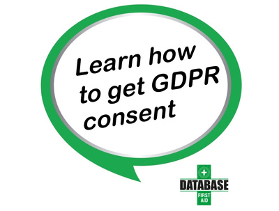 Learn how to get GDPR consent from your database (53 step guide)