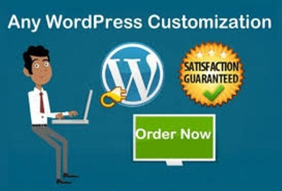 Customization to your word press based website (1 Hour)