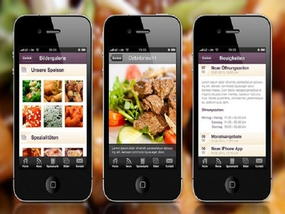 Create Android Template For News Or Restaurant App