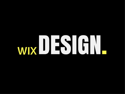 Create A Full Custom Wix Website Design 5-6 pages