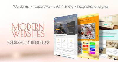 Design and develop modern Wordpress websites