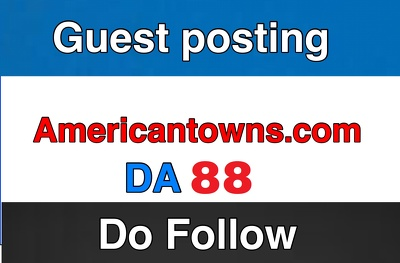 publish article on Americantowns.com