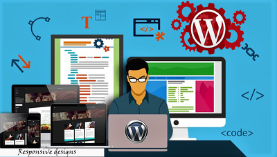 Develop complete WordPress website