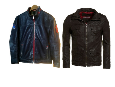 Produce leather jacket and ship to you