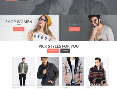 Create custom wordpress and php website
