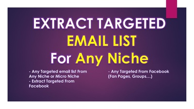 extract A List Of Facebook Groups For Any Niche