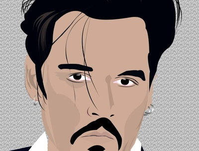 Create amazing vector art colored and B/W portrait