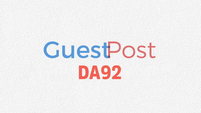 Give you DA92 Guest Post
