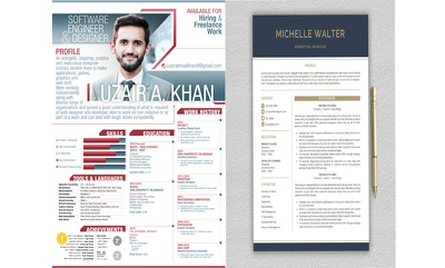 Design your Professional Latest design CV