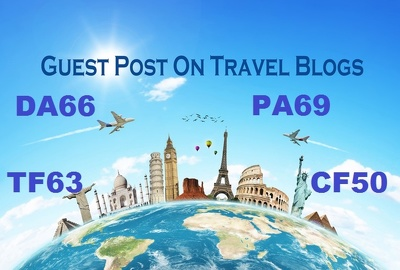 Publish guest post on TOP quality travel Blog (DA - 65/ PA - 69)