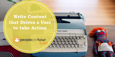 Create SEO Content or Blogpost that Drives a User to take Action