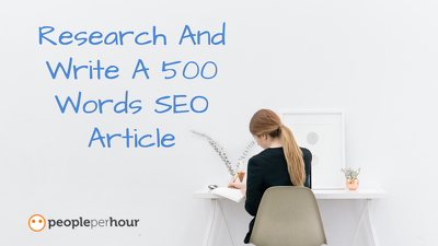 Research And Write A 500 Words SEO Article