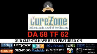 Publish Guest Post On Curezone.org  Da60 Tf62 Dofollow Health