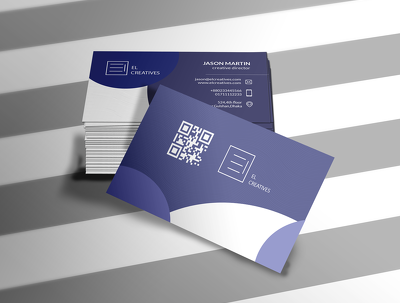 Design professional corporate double sided business card.