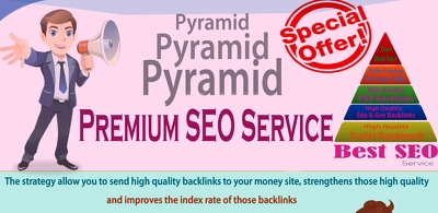 Boost SEO Rank with High Authority Advanced PYRAMID Backlinks