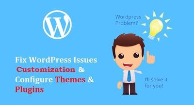 Fix WordPress bugs and errors