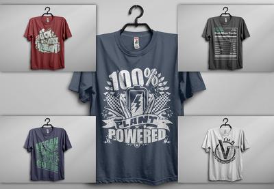 Do awesome t shirt mock up