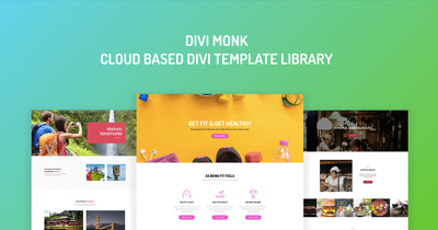 Develop Divi Parallax Landing Page or Squeeze Page.