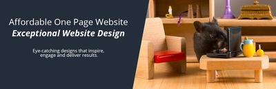 Design & Build a One Page Website or Landing Page (UK Developer)