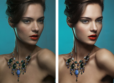 Professional photo editing and retouching services