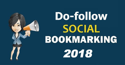 Provide  Do 30+ do-follow Social Bookmarking Backlink