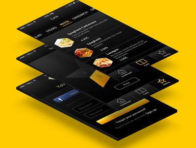 Design creative mobile app UI UX designs in psd