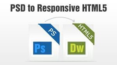 Convert your PSD to responsive HTML5, WordPre,Bootstrap,CS, JS
