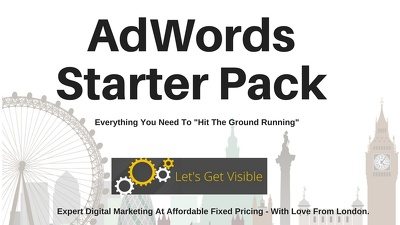 AdWords PPC Campaign Starter Pack. Includes £75 Voucher.