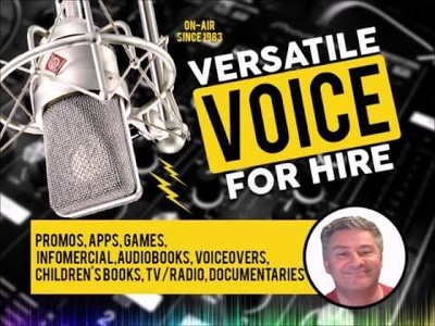 Voice Over Corporate,Training,Explainer or Commercial scripts