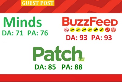 Permanent Guest post BuzzFeed, Patch And Minds