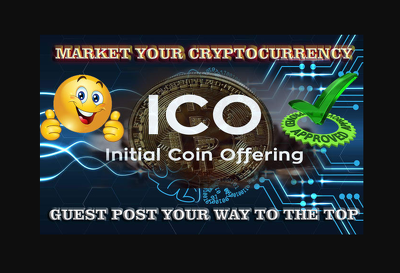 I will market your cryptocurrency or upcoming ICO via guest post