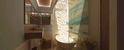 Create high-quality architectural interior renderings