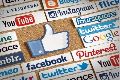 Manage all social media pages: Facebook, Twitter, and Instagram