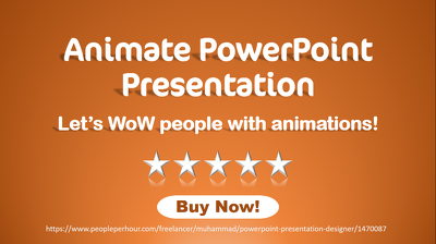 Add animations to PowerPoint presentation