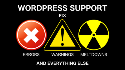Fix any Wordpress issue, error or problem