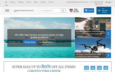 I Will Promote Your Drones Niche Blog Or Site