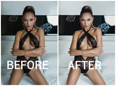 Retouch single picture (product or portrait)