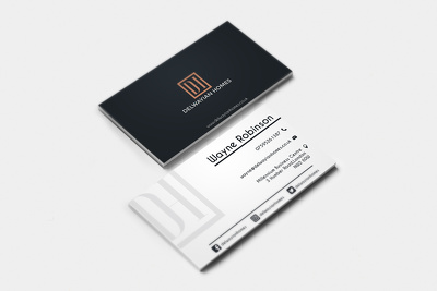 Design a double-sided business card