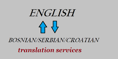 Translate 500 words from English into Bosnian/Serbian/Croatian