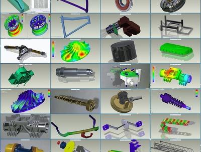 Design model CAD CAM CAE CFD