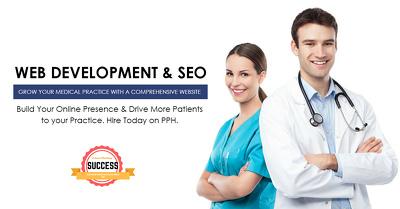Healthcare Web Development- Hosting & Premium THEME FREE