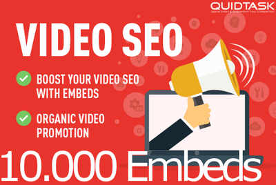 Create 10,000 YouTube Embeds for your video