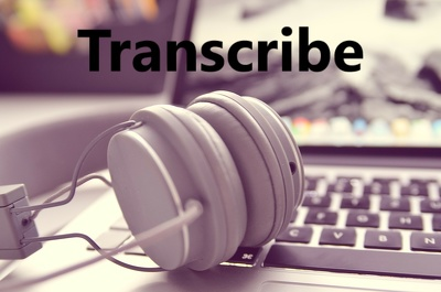 Transcribe up to 30 minutes of clear English from audio or video